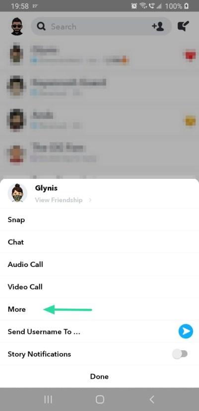 Löschen gesendete snapchat nachrichten Snapchat