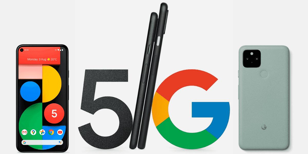 Google Pixel 5 blir officiell tillsammans med Pixel 4a 5G, Nest Audio och nya Chromecast med Google TV OS