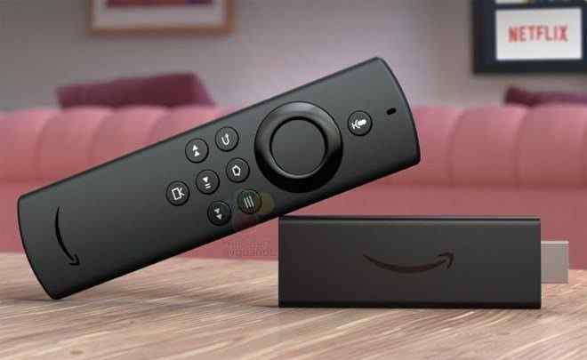 Fire TV Stick Lite med en ny fjärrkontroll läcker timmar före Amazon 2020-hårdvaruevenemang