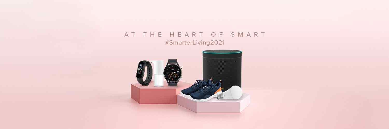 Xiaomi tillkännager flera anslutna ekosystemenheter i Indien vid Smarter Living 2021