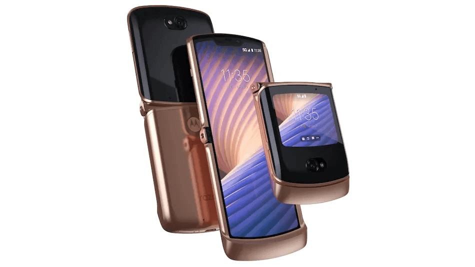 Motorola Razr 5G officiella teaser tips om överhängande Indien-lansering