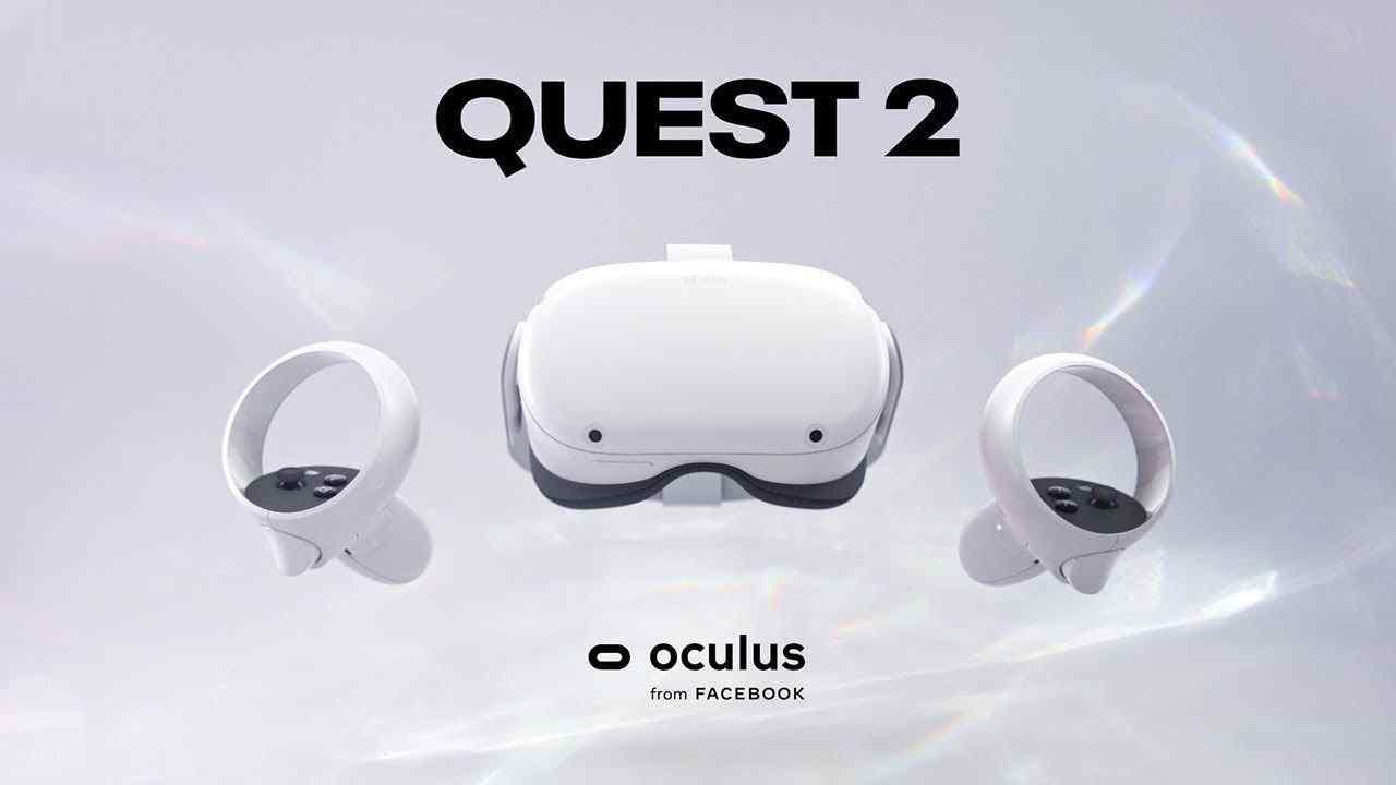 Oculus Quest 2 VR-headset blir officiellt vid Facebook Connect-evenemanget