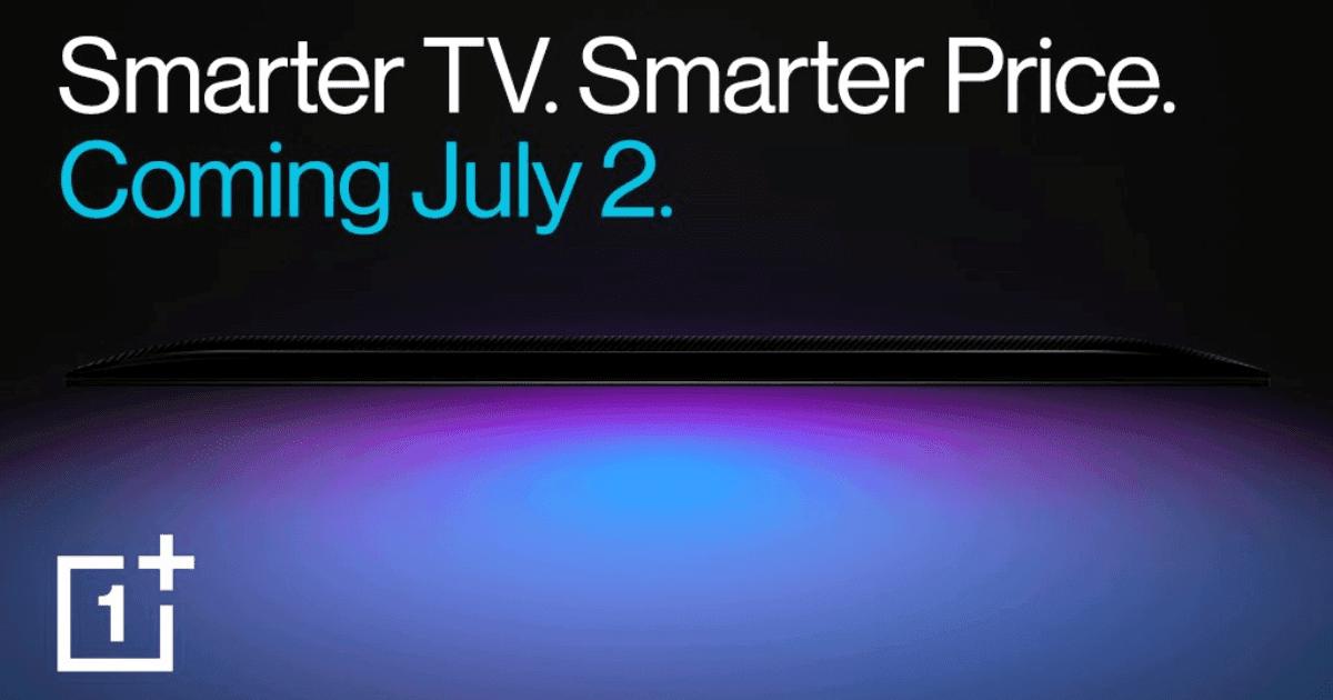 OnePlus VD avslöjar designdetaljer för OnePlus TV 2020