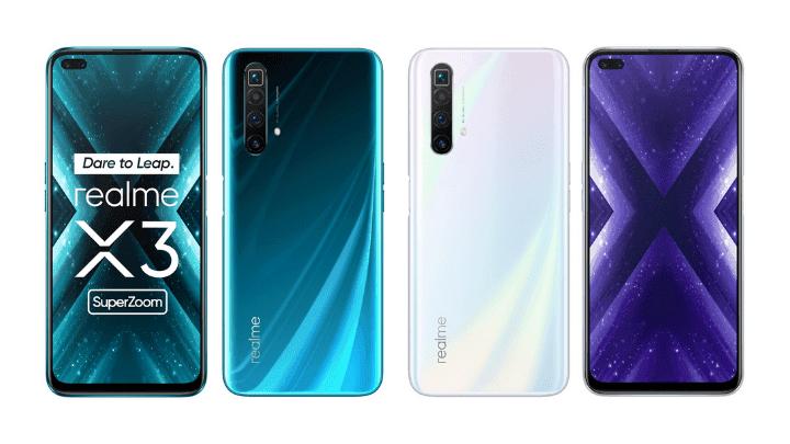 Realme X3 SuperZoom med 60x zoom och 120Hz-skärm blir officiell