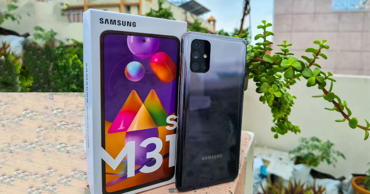 Samsung Galaxy M31s recension: Kaos är en stege