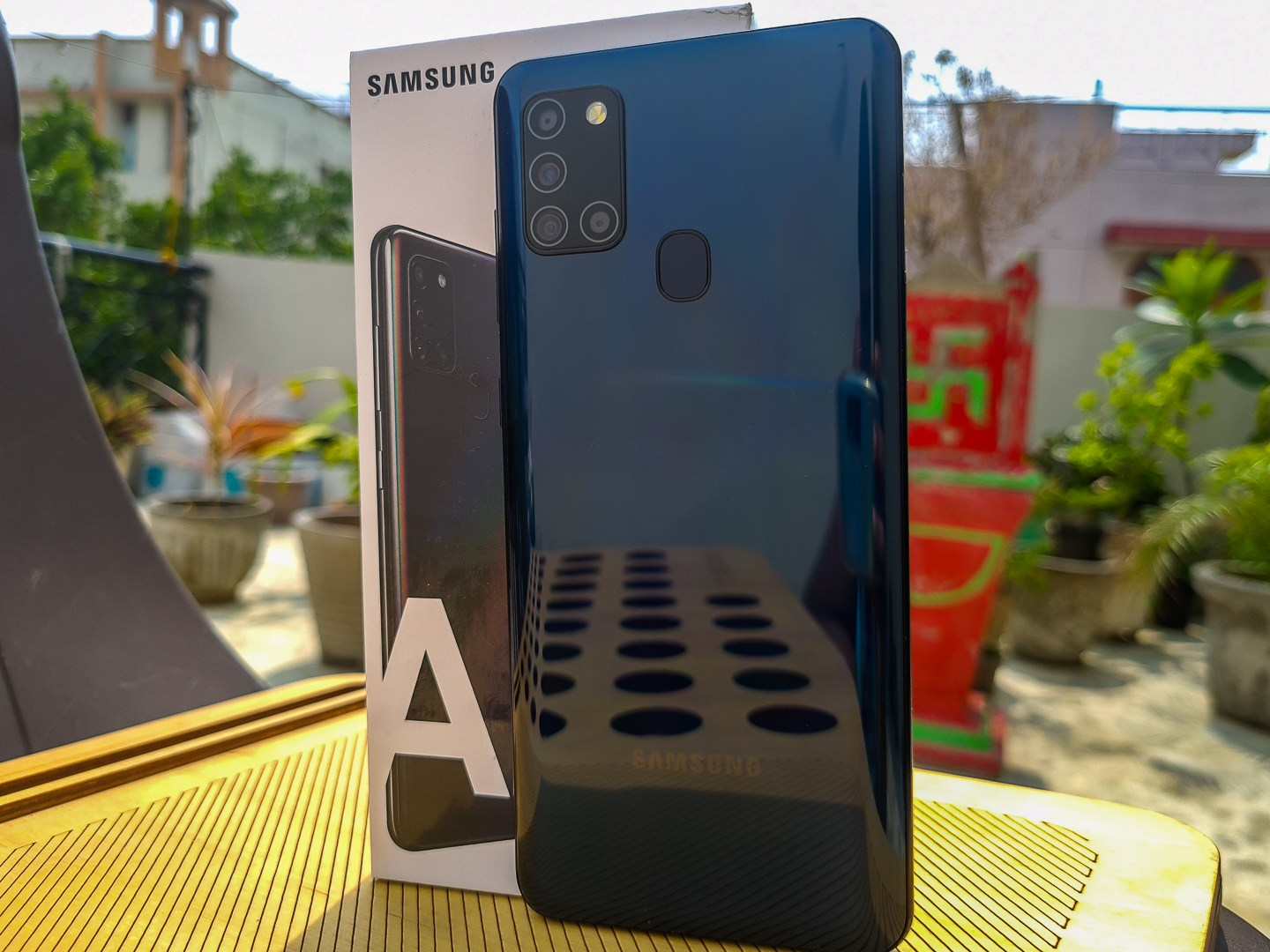 Praktiskt: Samsung Galaxy A21s Review