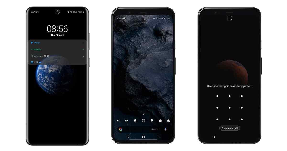 Så här installerar du MIUI 12 Super Earth och Mars live-bakgrundsbilder på din telefon