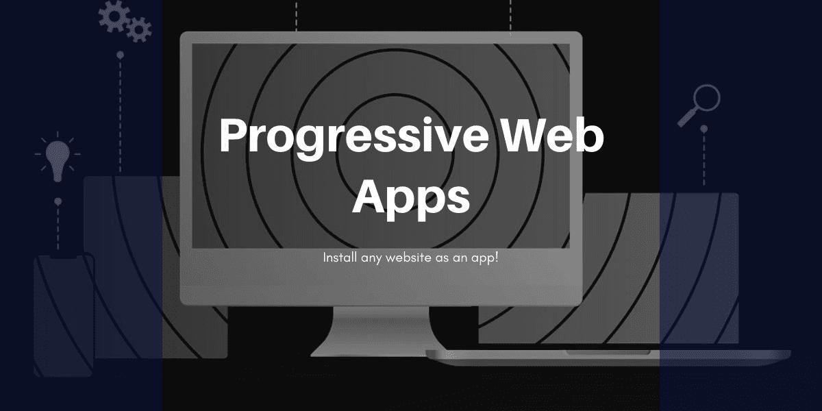 Hur man installerar en webbplats som en app - Progressive Web Apps