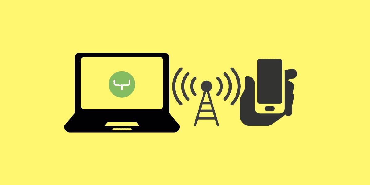 Så här omvandlar du Internet-Internet till Android-telefon (utan rot)
