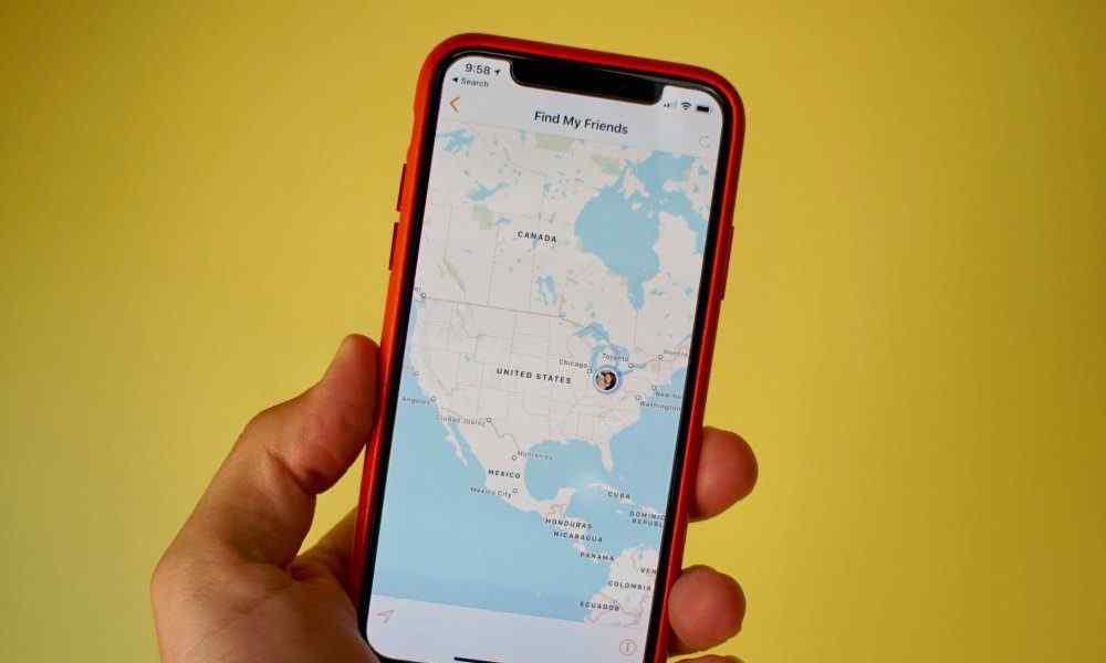 Hur man döljer iPhone-plats från Hitta mina vänner och iMessage