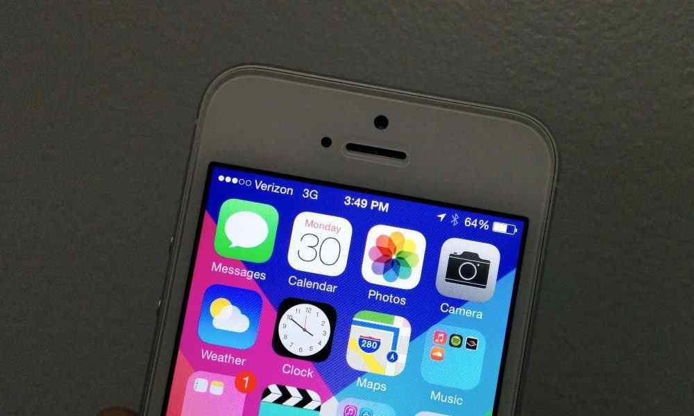 Vad betyder iPhone-symboler i iOS 10