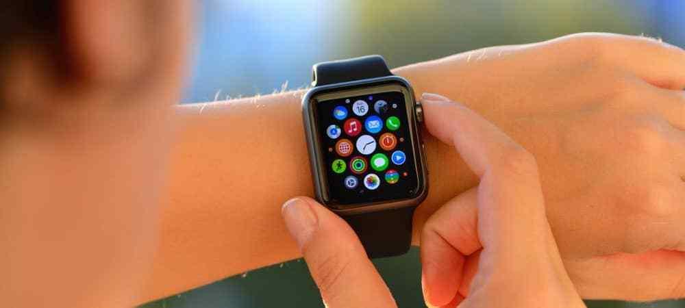 Hur man uppdaterar Apple Watch Apps
