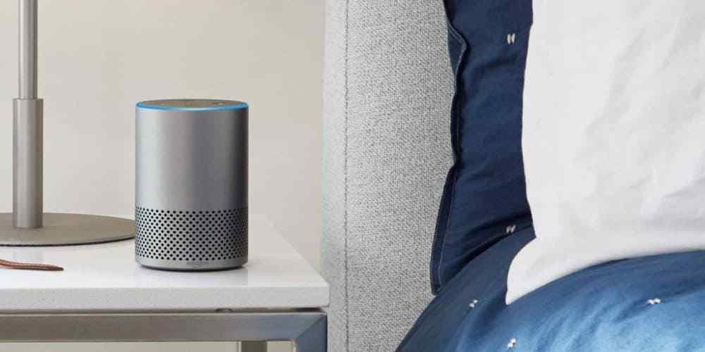 Ställ in multiroom-ljuduppspelning med Amazon Echo-enheter