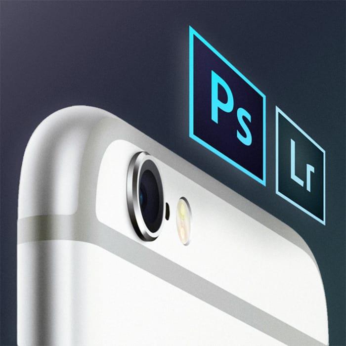 Lightroom och Photoshop för smartphonefotografering