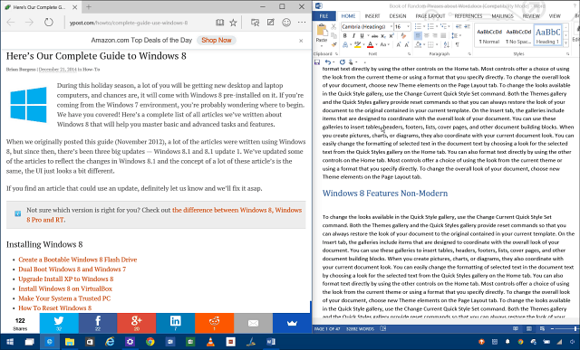 Delad skärm Windows 10