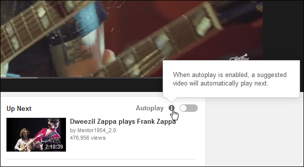 youtube autoplay-knapp längst ner