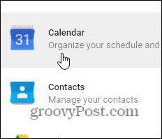 redigera kalenderinställningar