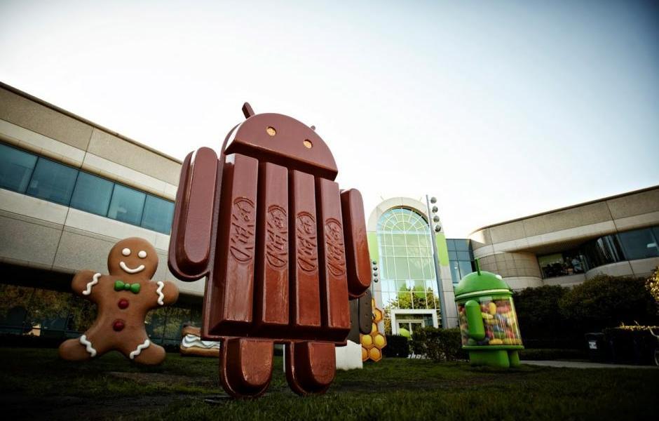 Samsung Galaxy KitKat Uppdelning av uppdatering (januari)