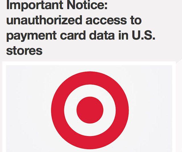 Target bekräftar överträdelse av kreditkortsdatasäkerhet