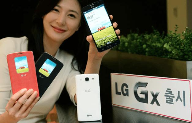 LG Gx tillkännagavs till Rival Galaxy Note 3