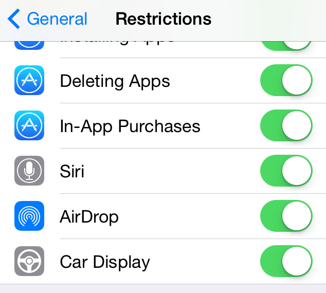 Senaste iOS 7.1 Beta föreslår iOS i bilen kommer snart