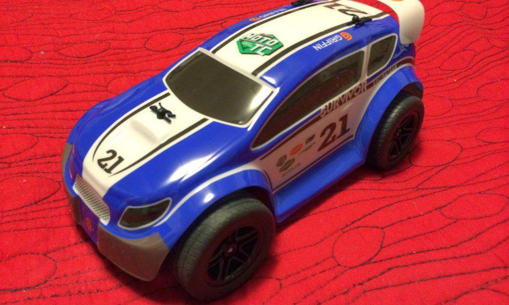 Griffin MOTO TC Rally en rolig RC-bil som styrs av iPhone eller Android