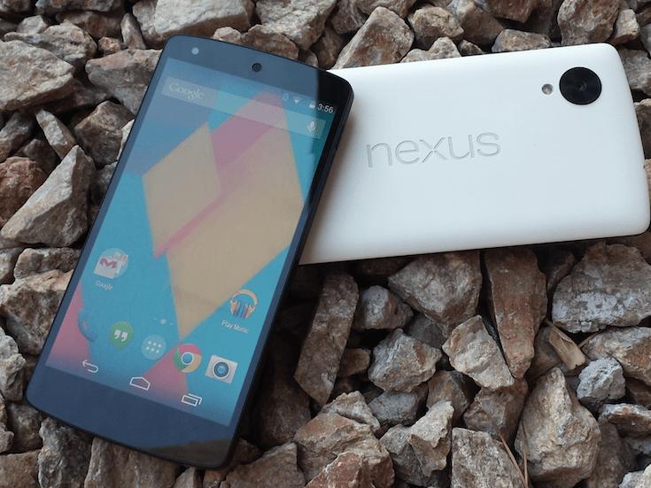 Nexus 5 vs Galaxy Nexus: Det är värt att uppgradera