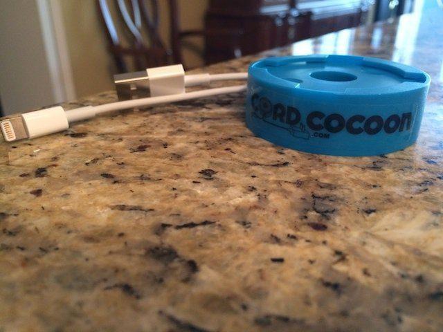 Cord Cocoon ett smutsigt sätt att klippa sladdrör