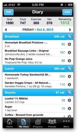 Kaloriräknare