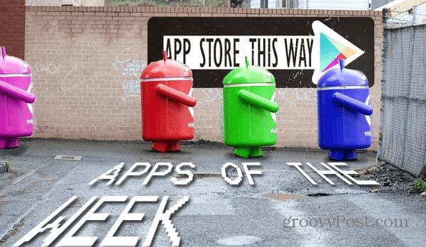 Veckans bästa nya Android-appar och spel