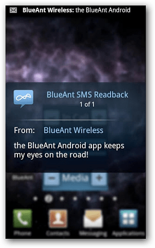 BlueAnt Android-app