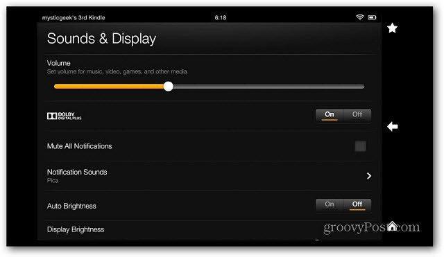 Ljud och display