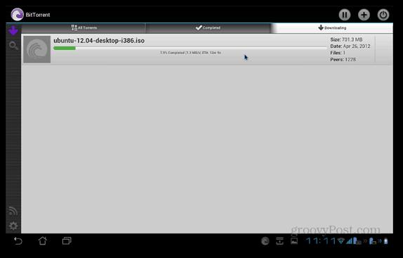 BitTorrent Beta hämtar Android