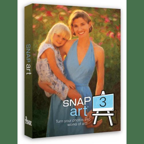 Snap Art 3 är ett Photoshop Filter Plugin som förvandlar foton till handritad konst