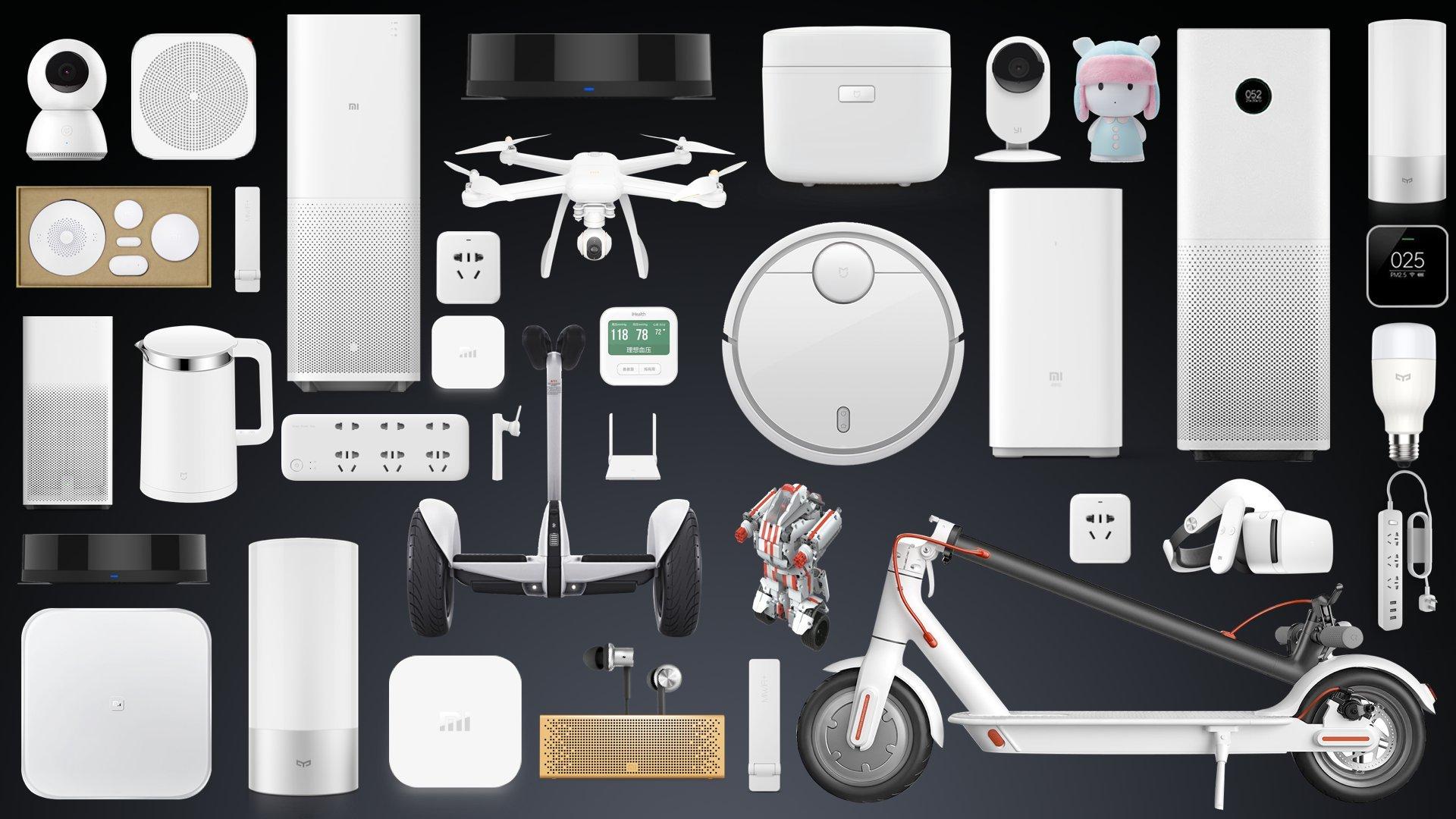 xiaomi tillbehör gadget ekosystem