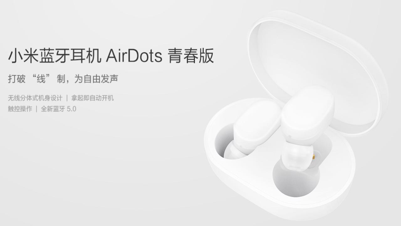 Xiaomi AirDots True Wireless-hörlurar - Banggood