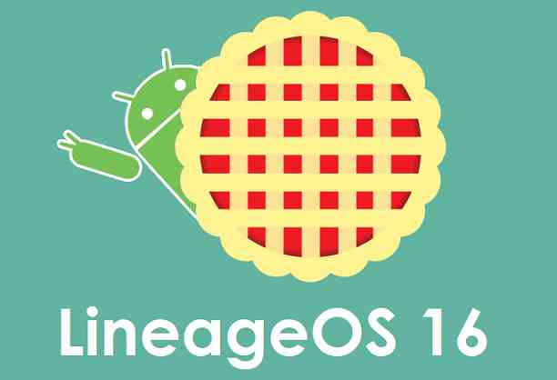 lineageos 16 android 9.0 pie