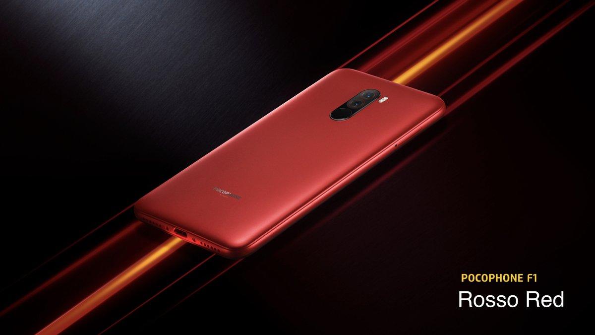 Xiaomi POCOPHONE F1 6/64 GB Röd - Gearbest