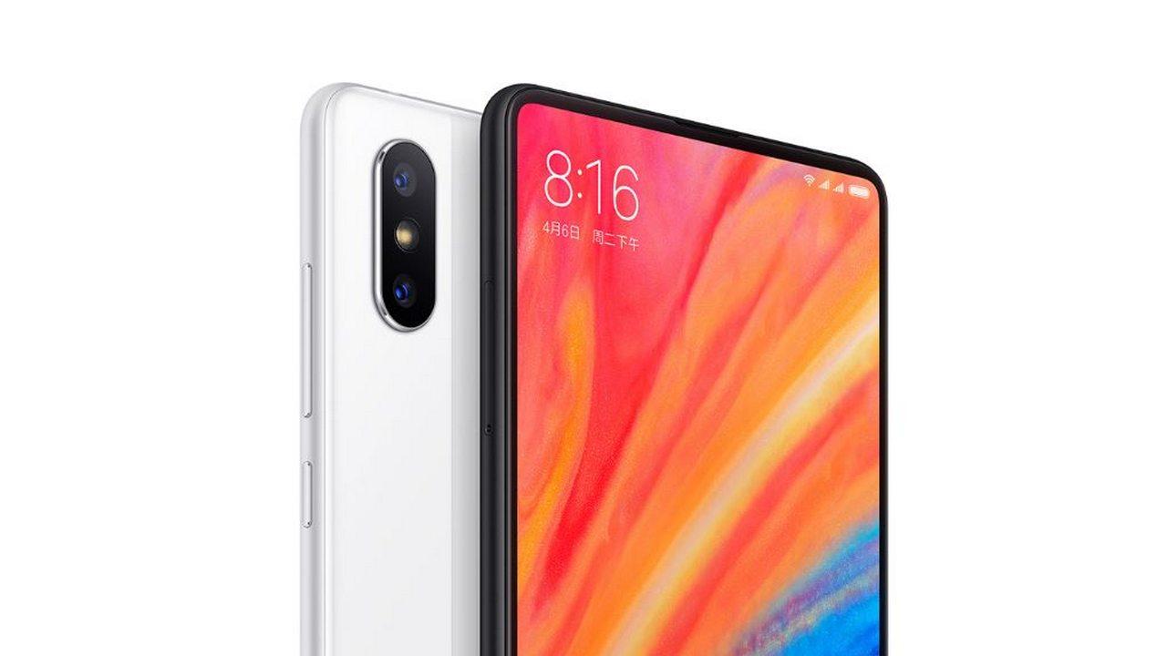 Xiaomi Mi MIX 2S Vit 6/64 GB - Gearbest