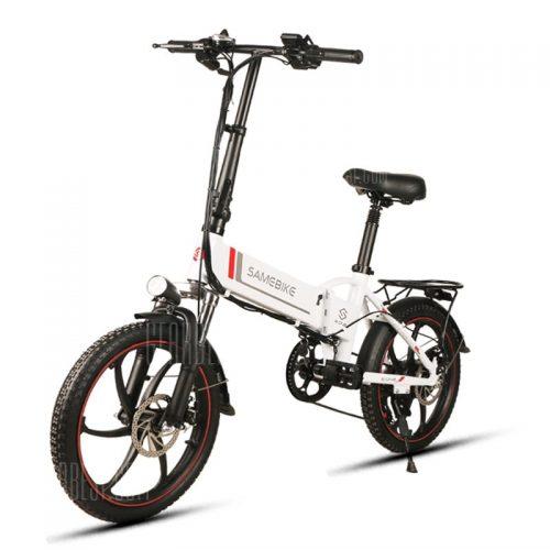 Samebike 20LVXD30 vikbar elektrisk cykel - Gearbest