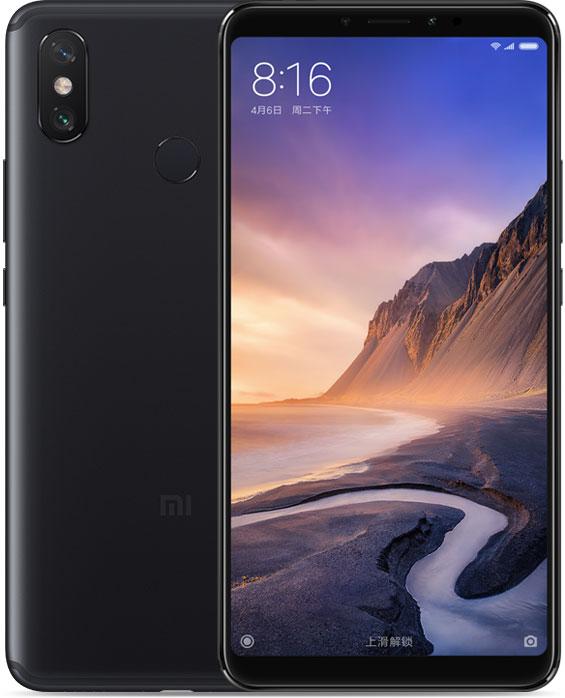 Xiaomi Mi Max 3 6/128 GB svart / guld - GeekBuying