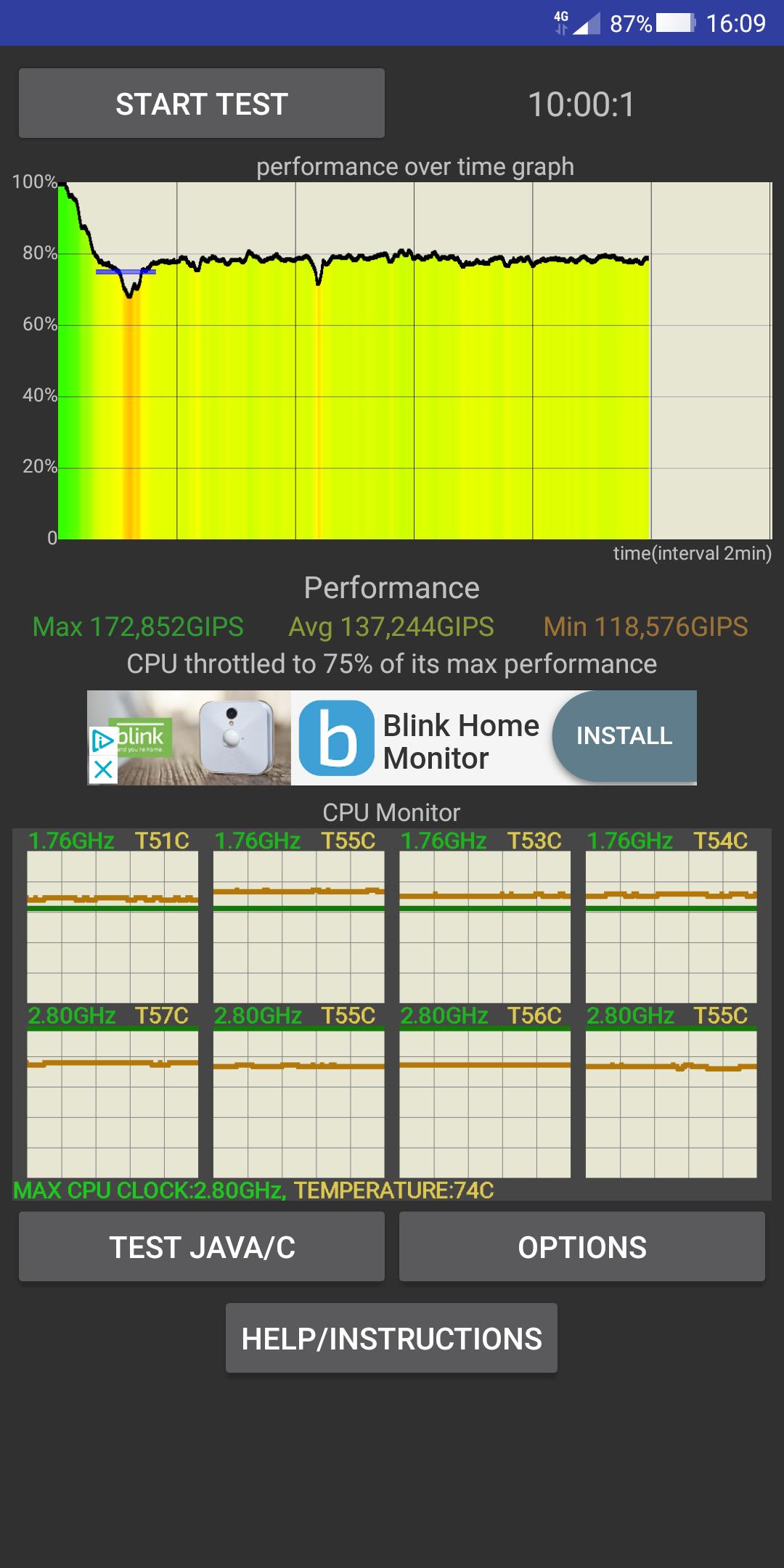 Xiaomi Black Shark stresstest granskning