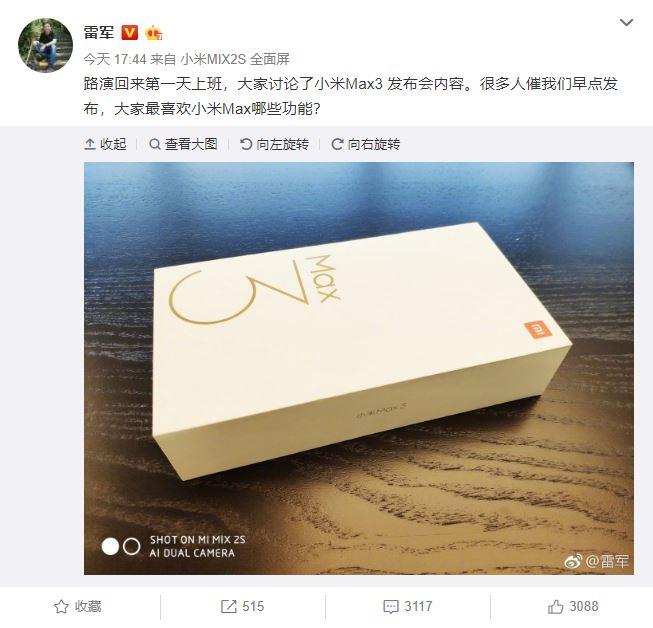 xiaomi-mi-max-3-försäljning-box-lei-jun-01