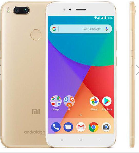 Xiaomi Mi A1 - 4/64 GB - Global version - GULD