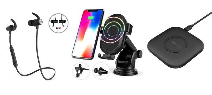 dodocool: Bluetooth-hörlurar, billaddare, trådlös laddningsbas och mer som erbjuds ...
