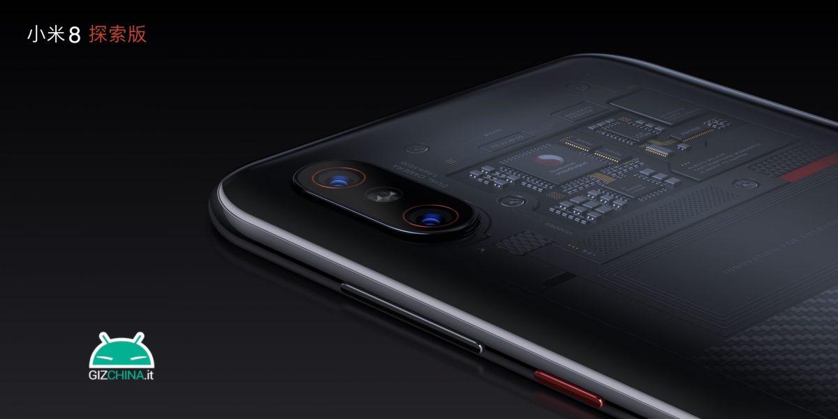 Xiaomi Mi 8 Explored Edition