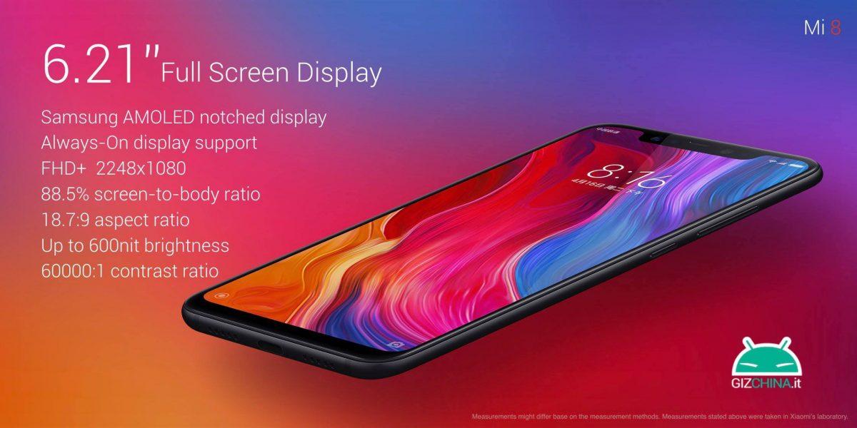 Xiaomi Mi 8 AMOLED