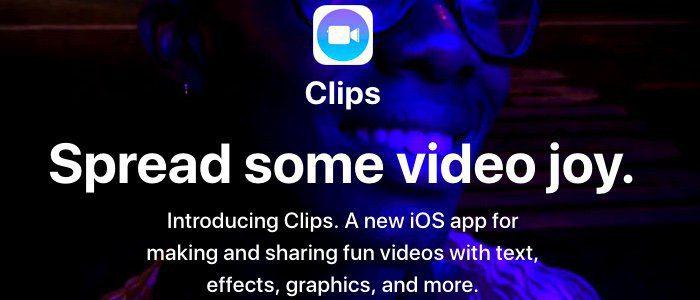 Apple Clips First Look - Apples nya mobilredigerings- och delningsapp