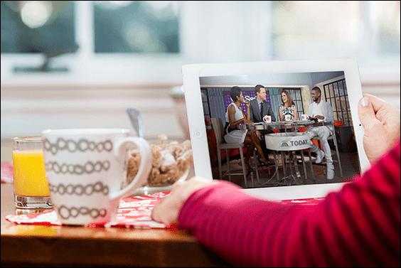 Comcast lanserar en Streaming TV-tjänst