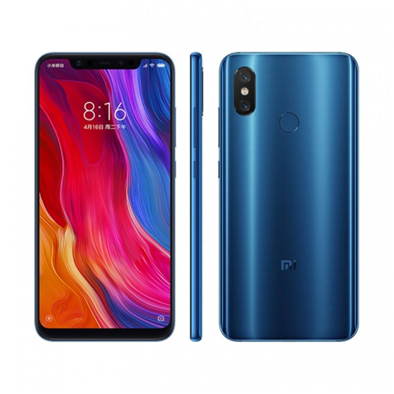 Xiaomi Mi 8 6/128 GB Blue - GeekBuying